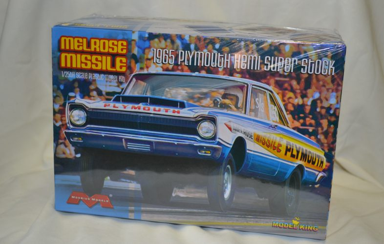 Moebius /Model King Melrose Missile 65 Plymouth Super Stock