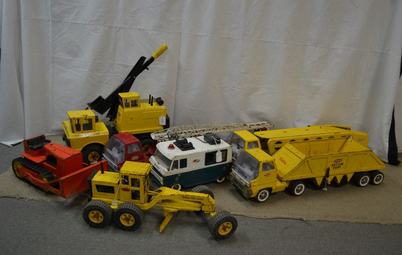 Old Stamped Steel Toys (Nylint, Tonka, Structo and more)