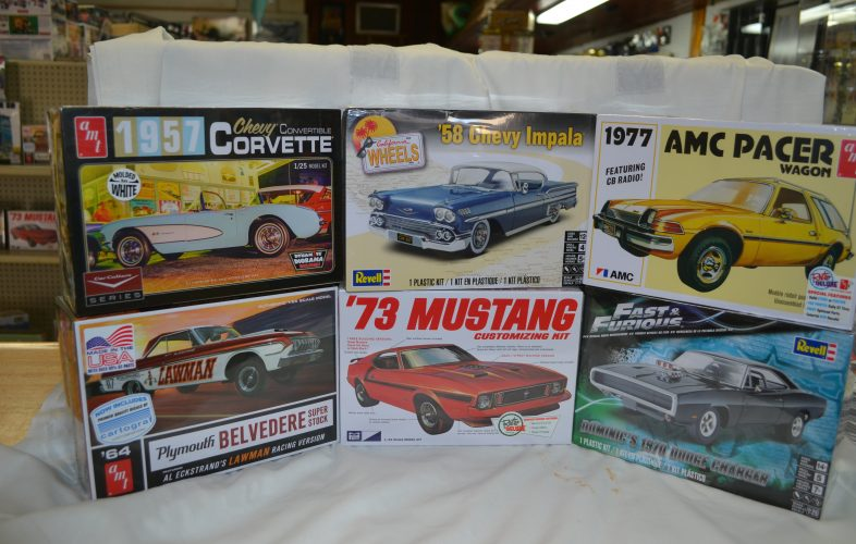 New Revell, AMT and MPC Model kits
