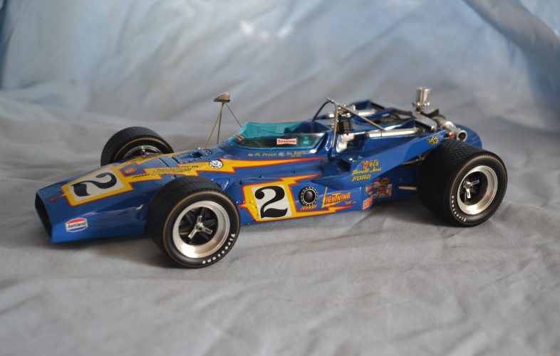 1970 Al Unser Johnny Lightning car from Replicarz