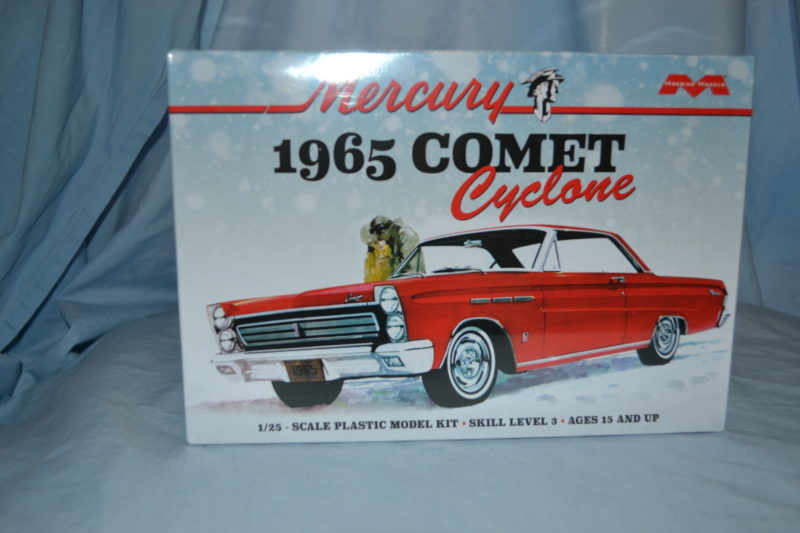 Moebius 65 Mercury Comet Cyclone Model Kit